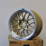 Rota Wheels MXR-R 1895 5x114.3 20 73 Gold with Polish Lip
