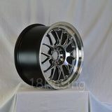 Rota Wheels MXR-F 1885 5x100 44 73 Hyperblack with Polish Lip