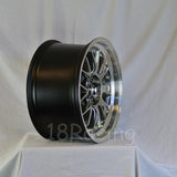 Rota Wheels MXR-R 1895 5x114.3 38 73 Hyperblack with Polish Lip