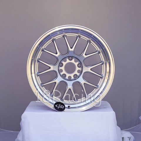 Rota Wheels MXR-R 1895 5x114.3 38 73 Silver with Polish Lip