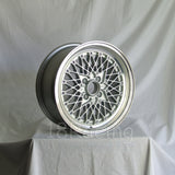 Rota Wheels Os Mesh 1570 4X110 20 73 Silver with Polish Lip