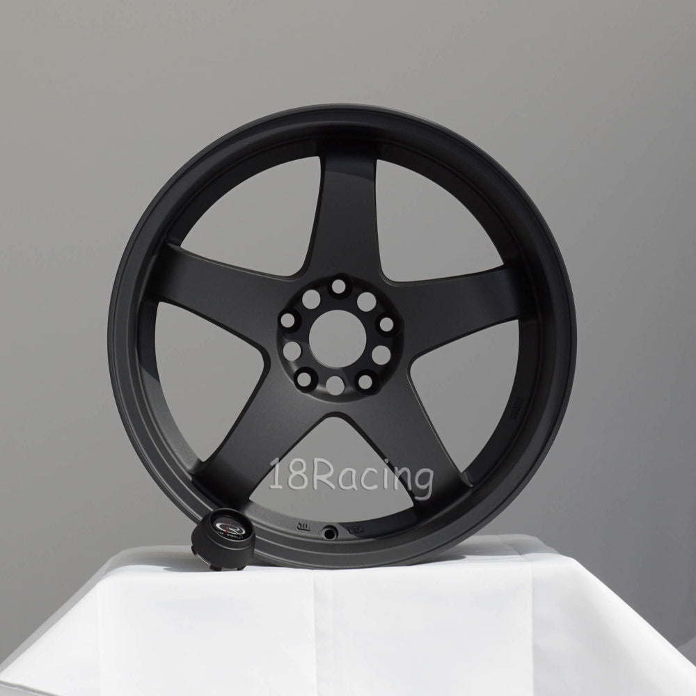 Rota Wheels P-45 R 1810 5X114.3 15  73 Magnesium  Black