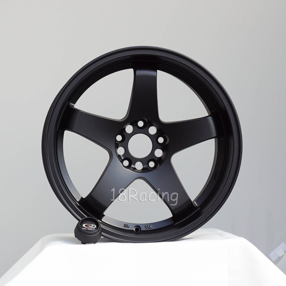 Rota Wheels P-45 R 1812 5X114.3 20  73 FLAT BLACK