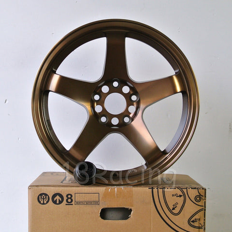Rota Wheels P-45R 1790 5X114.3 25 73 Full Royal Sport Bronze