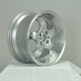 Rota Wheels PDC 1680 4X100 35 67.1 Full Polish Silver