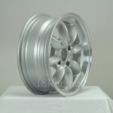 Rota Wheels RB 1560 4X101.65 15 73 Silver with Polish Lip