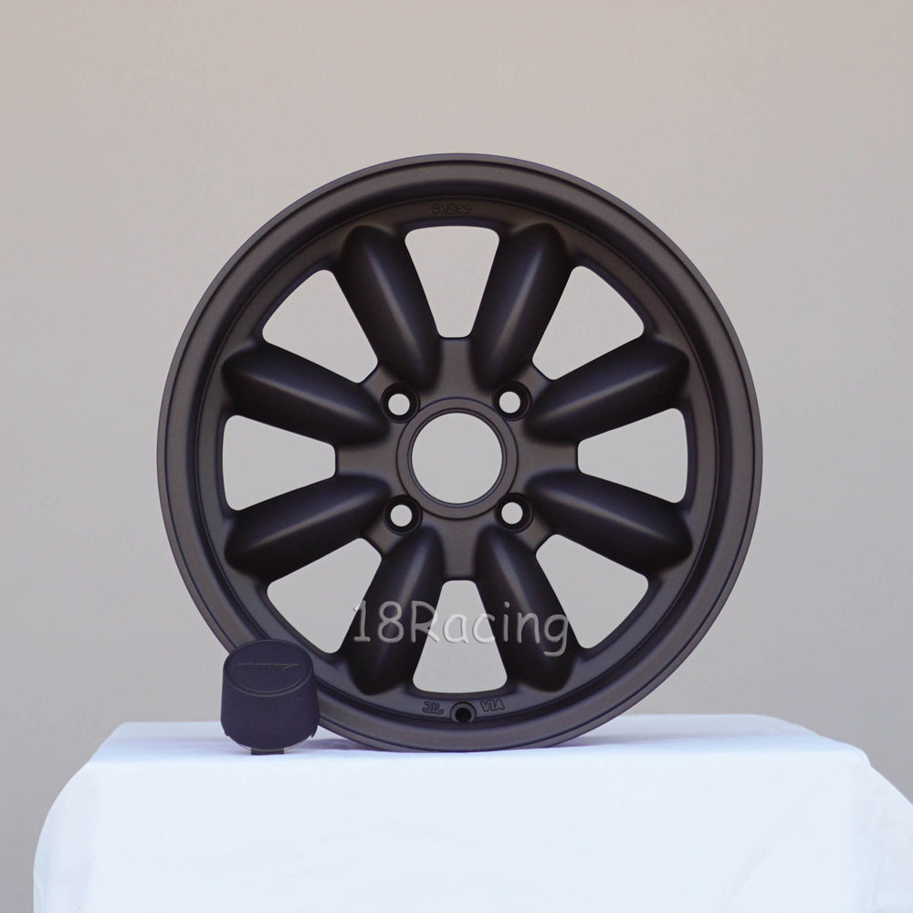 Rota Wheels RB 1570 4X110 20 73 Magnesium Black