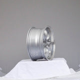 Rota Wheels RB 1570 4X100 30 67.1 Silver with Polish Lip
