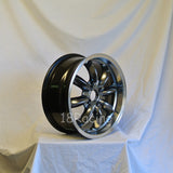 Rota Wheels RB 1670 4X95.25 25 57.1 Hyperblack with Polish Lip