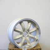 Rota Wheels RB 1670 4X100 40 56.1 White with Polish Lip