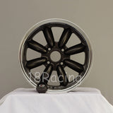 Rota Wheels RB 1670 4X114.3 4 73 Gunmetal with Polish Lip