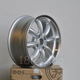 Rota Wheels RB 1785 4X114.3 4 73 Silver with Polish Lip