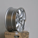 Rota Wheels RB 1775 4X114.3 20 73 Silver with Polish Lip
