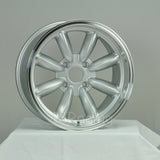 Rota Wheels RB 1670 4X114.3 4 73 Silver with Polish Lip