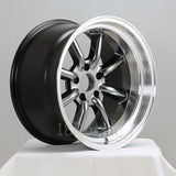 Rota Wheels RKR 1795 4X114.3 0 73 Hyperblack with Polish Lip