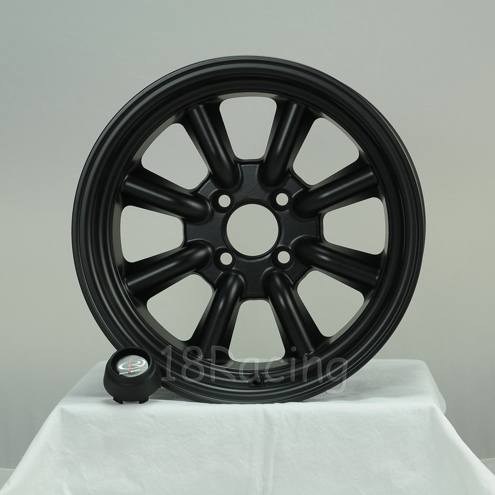 Rota Wheels RKR 1580 4X114.3 10 73 Magnesium Black