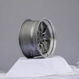 Rota Wheels RKR 1785 5X114.3 4 73  Steel Grey with Polish Lip