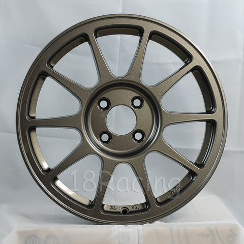 Rota Wheels R-Spec 1670 4X100 45 67.1 Steel Grey