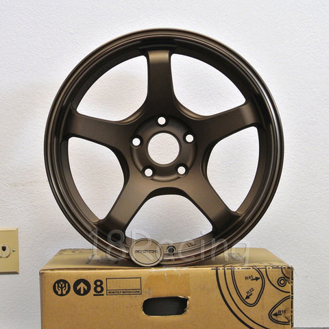 Rota Wheels RT-5R 1790 5X100 42 73 Speed Bronze