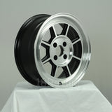 Rota Wheels Shakotan 1560 4X114.3 15 73 Full Polish Black