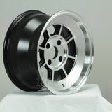 Rota Wheels Shakotan 1580 4X114.3 0 73 Full Polish Black