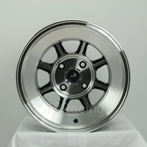 Rota Wheels Shakotan 1590 4X114.3 -15 73 Full Polish Black