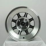 Rota Wheels Shakotan 1590 4X100 0 67.1 Full Polish Black