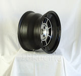 Rota Wheels Shakotan 1590 4X114.3 0 73 Full Polish Black with Yamaha Black Lip