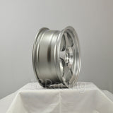 Rota Wheels Slipstream 1565 4X100 40 67.1 Full Polish Steel Grey