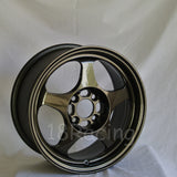 Rota Wheels Slipstream 1570 4X100 40 67.1 Gunmetal
