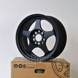 Rota Wheels Slipstream 1570 5X100 35 57.1 Flat Black
