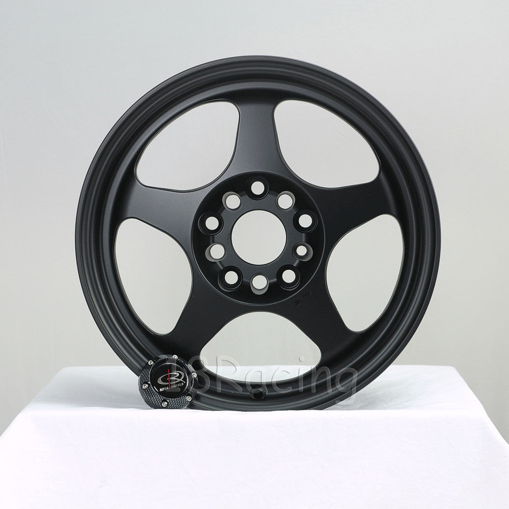 Rota Wheels Slipstream 1670 5X100 40 73 Flat Black