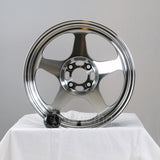 Rota Wheels Slipstream 1565 4X100 40 67.1 Full Polish Gunmetal
