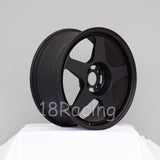 Rota Wheels Slipstream 1775 4X100 45 67.1 Flat Black