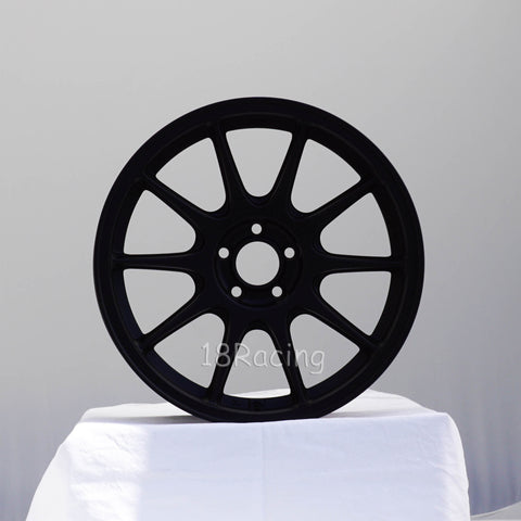 Rota Wheels Strike 1780 4x108 40 73 Flat Black 17.16 LBS