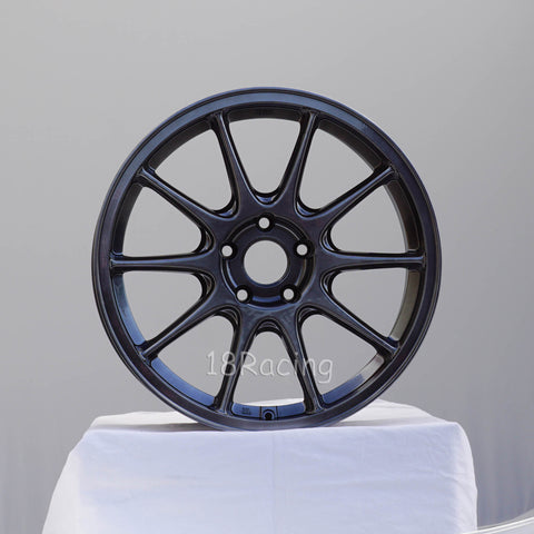 Rota Wheels Strike 1885 5x100 44 73 Hyper Black