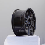 Rota Wheels Strike 1885 5x114.3 44 73 Hyper Black