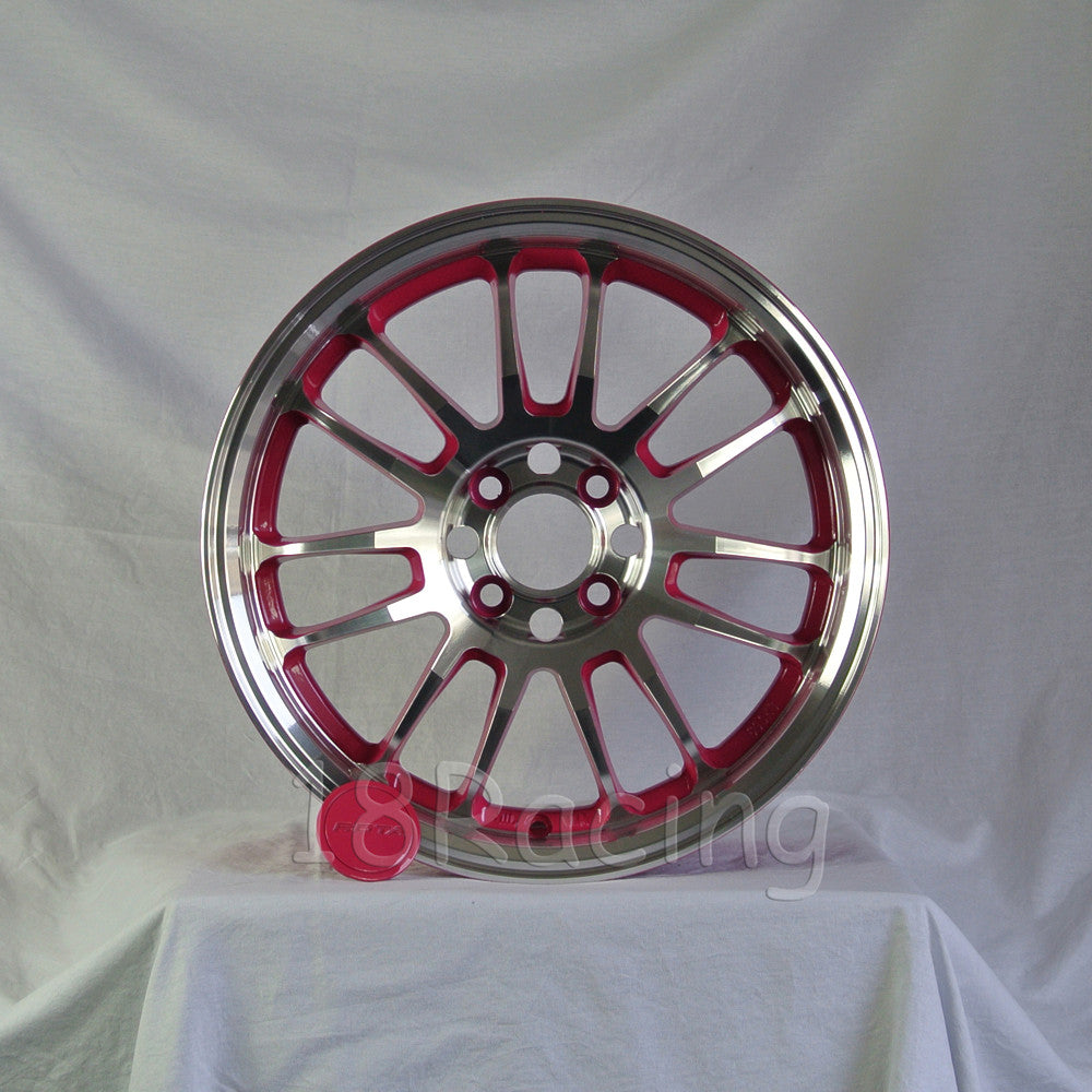 Rota Wheels SVN 1670 4X100 40 67.1 Full Polish Pink
