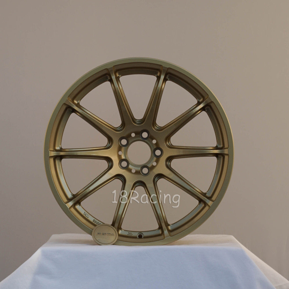 Rota Wheels T2-R 1810 5x114.3 25 73 Gold