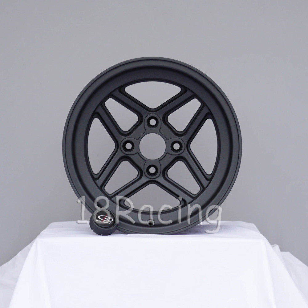 Rota Wheels TBT 1580 4X114.3 -15 73 Magnesium Black