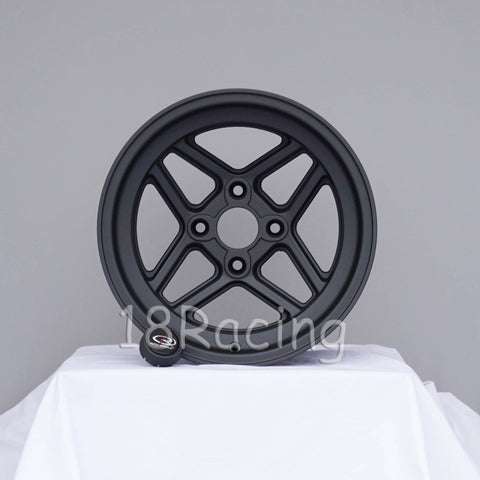 Rota Wheels TBT 1580 4X100 0 67.1 Magnesium Black