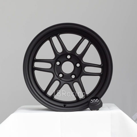 356 Wheels TFS-301 1570 5X100 35 57.1 Flat Black