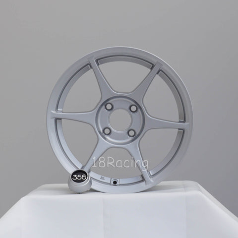 356 Wheels TFS-401 1570 4X100 35 67.1 Silver