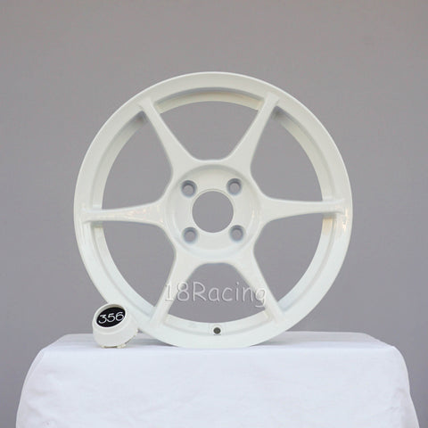356 Wheels TFS-401 1570 4X100 35 67.1 White