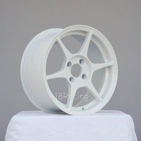 356 Wheels TFS-401 1570 5X100 35 57.1 White