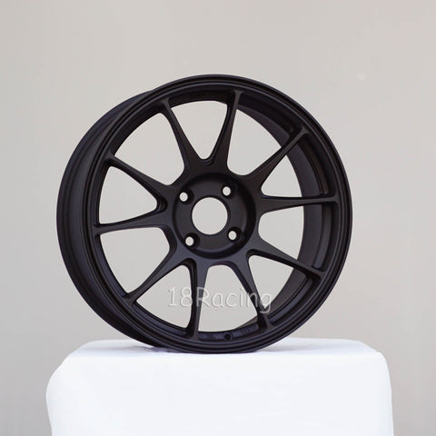Rota Wheels Titan 1775 4x108 40 73 Flat black- 16.5 LBS