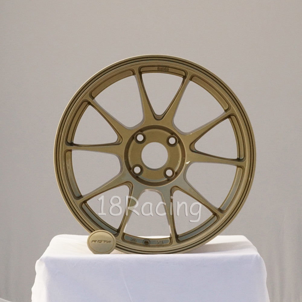 Rota Wheels Titan 1775 4x108 40 73 Gold