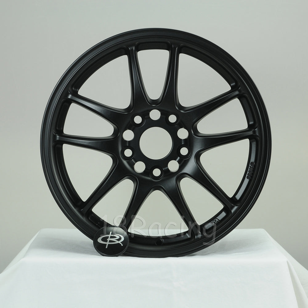Rota Wheels Torque 1670 4X100 27 56.7 Flat Black