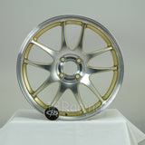 Rota Wheels Torque 1775 4X100 45 67.1 Full Polish Gold