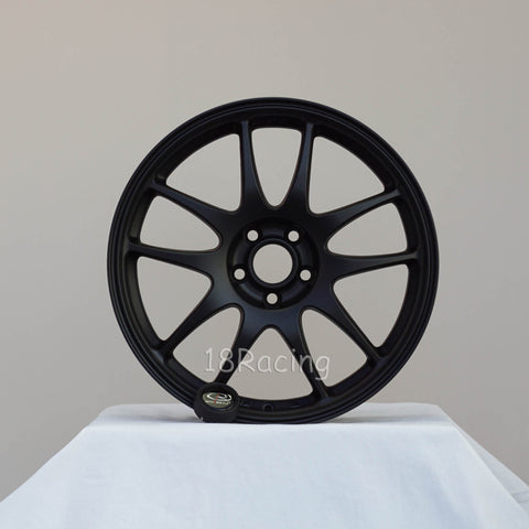 Rota Wheels Torque 1780 4X100 35 56.7 Flat Black